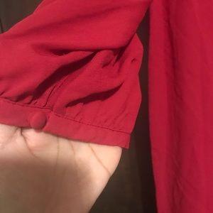 Violet & Claire Tops - Red violet & Claire  blouse.